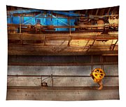 Industrial - The Gantry Crane Tapestry