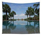 Infinity Pool Of Aureum Palace Hotel Tapestry