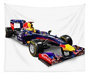 Infinity Red Bull Rb9 Formula 1 Race Car Tapestry