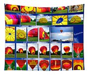 Inflation Hot Air Balloon Tapestry