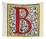 Initial 'b', C1600 Tapestry