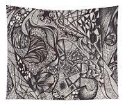 Ink Unfolding Tapestry