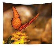 Insect - Butterfly - Just A Bit Of Orange  Tapestry