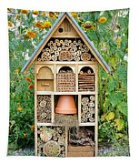 Insect Hotel Tapestry