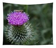 Insect On A Thistle Tapestry