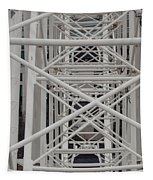 Inside Of The Ferris Wheel Tapestry