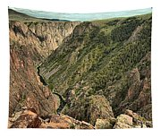Inside The Black Canyon Tapestry