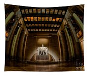 Inside The Lincoln Memorial Tapestry