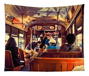 Inside The St. Charles Ave Streetcar New Orleans Tapestry