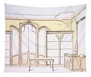 Interior Design For A Fashion Shop Tapestry