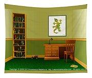 Interior Design Idea - Little Lizard - Animal Art Tapestry