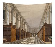 Interior Of Trinity College Library Tapestry