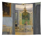 Interior With Afternoon Sun Tapestry