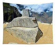 Inti Watana Stone Calendar At Machu Picchu Tapestry