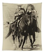 Into The Fray - Confederate Generals Tapestry