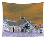 Invert Of The Apple Barn's Christmas Shop In Pigeon Forge Tennessee Tapestry