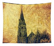Ireland St. Brendan's Cathedral Spire Tapestry