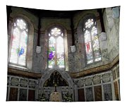 Ireland St. Brendan's Cathedral Stained Glass Tapestry