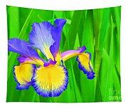 Iris Blossom Tapestry