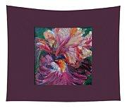 Iris - Bold Impressionist Painting Tapestry