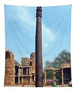 Iron Pillar Of Qutb Tapestry