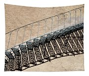 Iron Stairs Shadow Tapestry