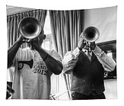Irvin And Wynton Tapestry