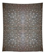 Islamic Wooden Texture Tapestry
