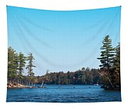 Island On The Fulton Chain Of Lakes Tapestry