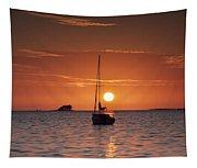Island Sunset Tapestry