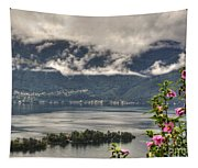 Islands And Flowers Tapestry