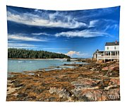 Isle Au Haut House Tapestry