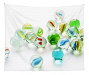 Isolated Marbles Tapestry