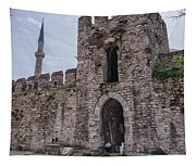 Istanbul City Wall 05 Tapestry