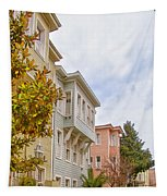 Istanbul Wooden Houses 01 Tapestry
