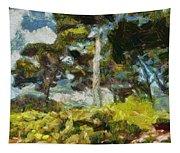 Italian Stone Pine Tapestry
