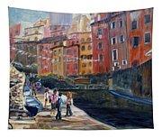 Italian Town Tapestry