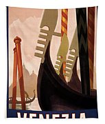 Italian Travel Poster, C1920 Tapestry