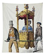 Italy Sedan Chair Tapestry
