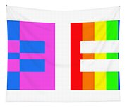 It's Time - Equal Rights For All By Sharon Cummings Tapestry