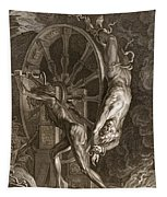 Ixion In Tartarus On The Wheel, 1731 Tapestry