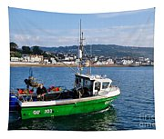 J B P Leaving The Harbour Tapestry
