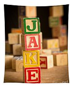 Jake - Alphabet Blocks Tapestry