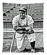Jackie Robinson Painting Tapestry