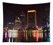 Jacksonville Night Tapestry