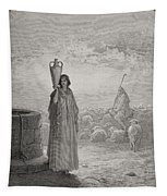 Jacob Keeping Laban's Flock Tapestry
