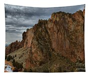 Jagged Peaks At Smith Rock Tapestry