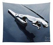 Jaguar Hood Ornament Tapestry