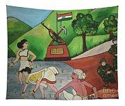 Jai Jawan Jai Kisan Tapestry