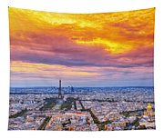 J'aime Paris Tapestry